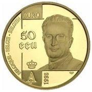 50 Écu - Albert II (Human Rights) – obverse