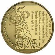 50 Écu - Albert II (Human Rights) – reverse