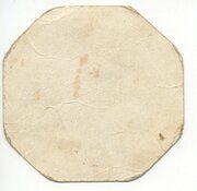 Bon pour/Goed voor 1 kilo de pain/brood - Ville de Gand -  obverse