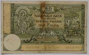 50 Francs / 10 Belgas – reverse