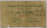 1 Franc (Comptes courants) – obverse