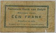 1 Franc (Comptes courants) – reverse