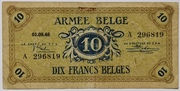10 Francs (Army Issue) – obverse