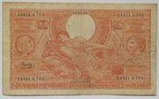 100 francs - 20 belgas Type 1933 Orange - Recto en néerlandais – obverse