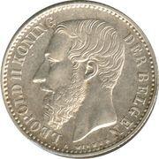 1 Franc - Léopold II (Dutch text) -  obverse