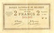 2 Francs (Comptes courants) – obverse