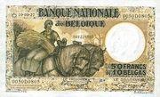 50 Francs / 10 Belgas – obverse
