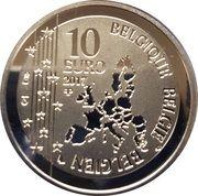 10 Euro (Tijl Uilenspiegel) -  obverse