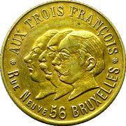 3.6 Francs - Aux Trois François – obverse
