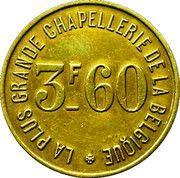 3.6 Francs - Aux Trois François – reverse