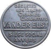 5 Centimes - Van Der Elst (Stamp) – reverse