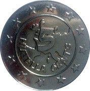 5 Nutella Cents (Idefix) – reverse
