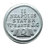 Token - Restaurants Quick (II - Neapolis Stater) – reverse
