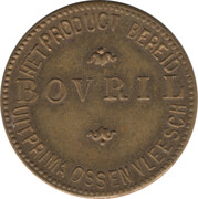 Token - Bovril (French-Dutch) – reverse