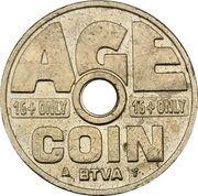 Cigarette Vending Token - Age Coin (BTVA) – obverse