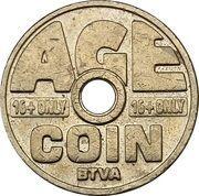 Cigarette Vending Token - Age Coin (BTVA) – reverse