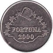 Game Token - Fortuna 2000 – obverse