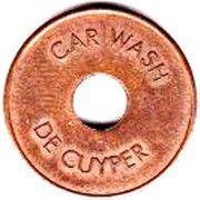 Car Wash Token - De Cuyper – obverse