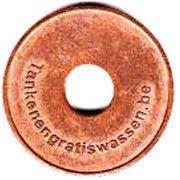 Car Wash Token - De Cuyper – reverse