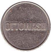 Car Wash Token - Ottowash – obverse
