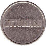 Car Wash Token - Ottowash – reverse