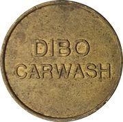 Car Wash Token - Dibo (Brass) – obverse