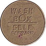 Car Wash Token - Wash Box – obverse
