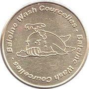 Car Wash Token - Baleine Wash Courcelles – reverse