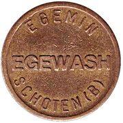 Car Wash Token - Egemin (Schoten) – obverse
