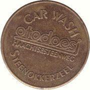 Car Wash Token -  Otodoesj (Steenokkerzeel) – reverse
