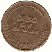 Car Wash Token -  Dibo (Hasselt) – obverse
