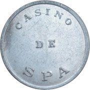 1 Franc - Casino de Spa – obverse