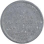 5 Centimes - Boulangerie (Soignies) – obverse