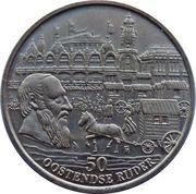 50 Oostendse Rijder - Oostende (Hippodroom Wellington) – reverse