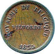 25 Centimes - Monnaie Fictive (Velvorde, Monnaie Pénitentiaire) – obverse