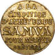 25 Centimes - Samva – obverse