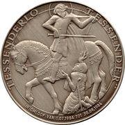 Token - 40th Anniversary of liberation (Regiment Carabiniers Prins Boudewijn - Grenadiers) – reverse