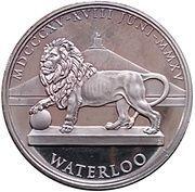 Token - Waterloo 1815-2015 – reverse