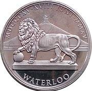 Token - Waterloo (Napoléon) – reverse