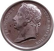 Token - Waterloo (Franciscus I) – obverse