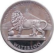 Token - Waterloo (Franciscus I) – reverse