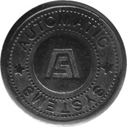 Parking Token - Automatic Systems (1) – obverse