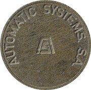 Parking Token - Automatic Systems S.A. (2) – obverse