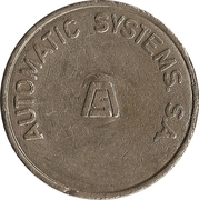 Parking Token - Automatic Systems S.A. (1) – obverse