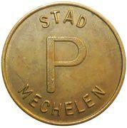 Parking Token - Mechelen – reverse