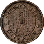 1 Franc - Prison Hoogstraeten (Merxplas) – reverse