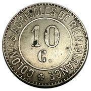 10 Centimes - Colonies agricoles de bienfaisance (Hoogsraeten / Merxplas) – obverse