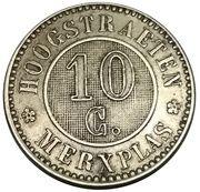 10 Centimes - Colonies agricoles de bienfaisance (Hoogsraeten / Merxplas) – reverse