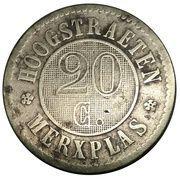 20 Centimes - Colonies agricoles de bienfaisance (Hoogsraeten / Merxplas) – reverse