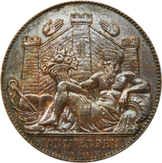 Token - Exposition Universelle d'Anvers 1885 – reverse